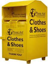 Planet Aid Donation Box