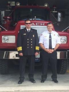 Fire Chief Jay Henry & Captain Mike Chapman