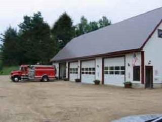 Fire House with Truck